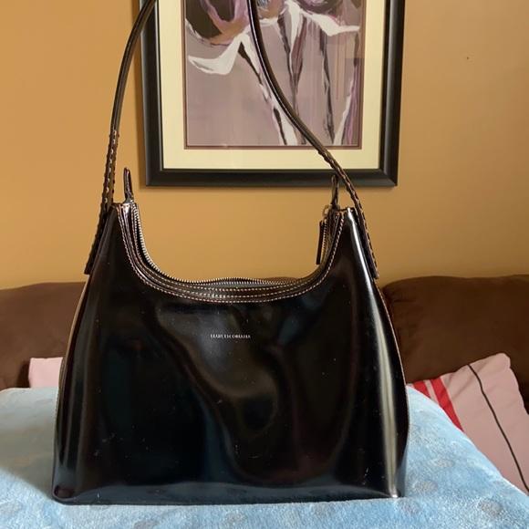 Francesco Biasia Patent Leather Bag